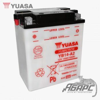 Аккумуляторная батарея Yuasa YB14-A2 (14 Ач, 12 В)
