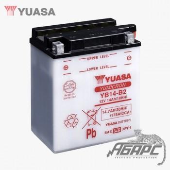 Аккумуляторная батарея Yuasa YB14-B2 (14 Ач, 12 В)