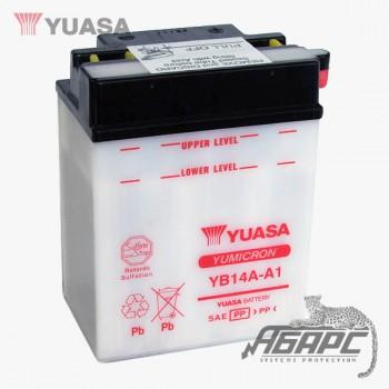 Аккумуляторная батарея Yuasa YB14A-A1 (14 Ач, 12 В)