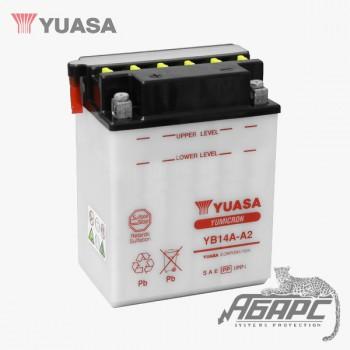 Аккумуляторная батарея Yuasa YB14A-A2 (14 Ач, 12 В)