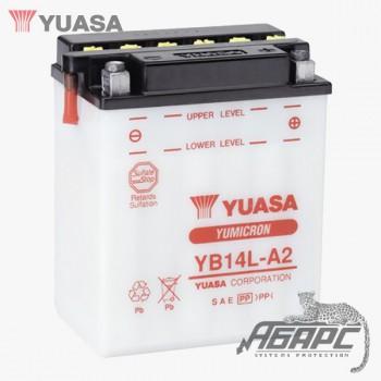 Аккумуляторная батарея Yuasa YB14L-A2 (14 Ач, 12 В)
