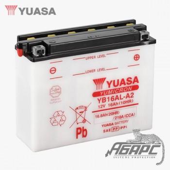 Аккумуляторная батарея  Yuasa YB16AL-A2 (16 Ач, 12 В)