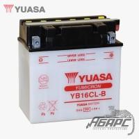 Аккумуляторная батарея Yuasa YB16CL-B (16 Ач, 12 В)