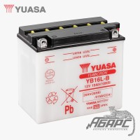 Аккумуляторная батарея Yuasa YB16L-B (16 Ач, 12 В)