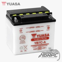 Аккумуляторная батарея Yuasa YB7C-A (8 Ач, 12 В)