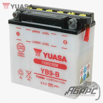 Аккумуляторная батарея Yuasa YB9-B (9 Ач, 12 В)