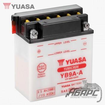 Аккумуляторная батарея Yuasa YB9A-A (9 Ач, 12 В)