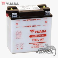 Аккумуляторная батарея Yuasa YB9L-A2 (9 Ач, 12 В)
