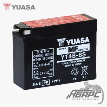 Аккумуляторная батарея Yuasa YT4B-BS (YT4B-5) 2,3 Ач, 12 В