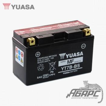 Аккумуляторная батарея Yuasa YT7B-BS (7B-4) 6,5 Ач, 12 В