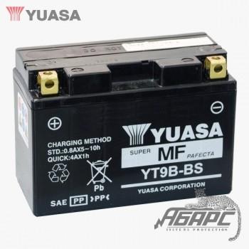 Аккумуляторная батарея Yuasa YT9B-BS (9B4) 8 Ач, 12 В