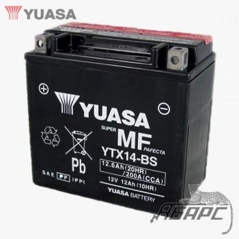 Аккумуляторная батарея Yuasa YTX14-BS (12 Ач, 12 В)
