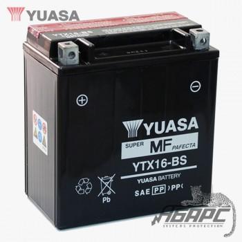Аккумуляторная батарея Yuasa YTX16-BS (14 Ач, 12 В)