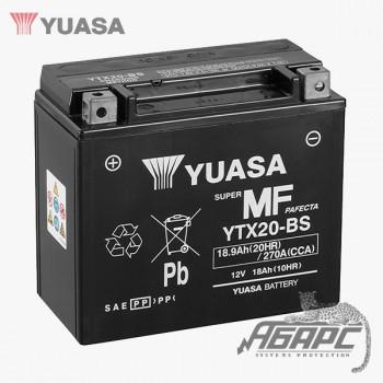Аккумуляторная батарея Yuasa YTX20-BS (18 Ач, 12 В)