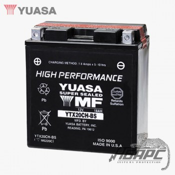 Аккумуляторная батарея Yuasa YTX20CH-BS (18 Ач, 12 В)