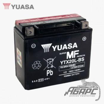 Аккумуляторная батарея Yuasa YTX20L-BS (18 Ач, 12 В)