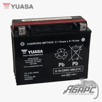 Аккумуляторная батарея Yuasa YTX24HL-BS (21 Ач, 12 В)