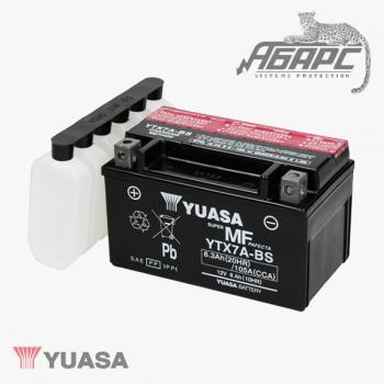 Аккумуляторная батарея Yuasa YTX7A-BS (6 Ач, 12 В)