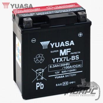 Аккумуляторная батарея Yuasa YTX7L-BS (6 Ач, 12 В)
