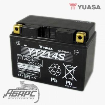 Аккумуляторная батарея Yuasa TTZ14S (YTZ14S) 14 Ач, 12 В