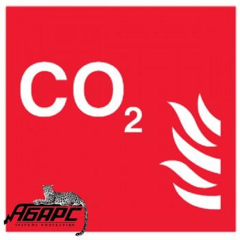 CO2 (Наклейка)