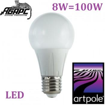 Лампа светодиодная (LED) Artpole 004297 8W E27