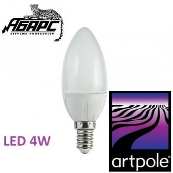 Лампа-свеча светодиодная (LED) Artpole 004307 4W E14