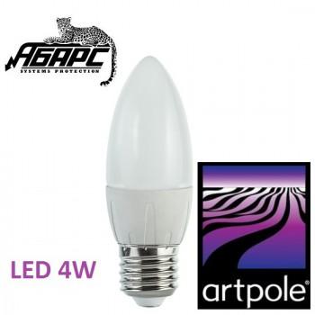 Лампа-свеча светодиодная (LED) Artpole 004308 4W E27