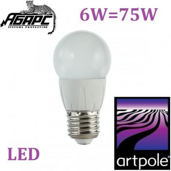 Лампа светодиодная (LED) Artpole 004428 6W E27