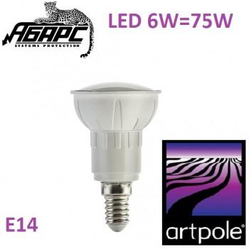 Лампа светодиодная для точечного светильника (LED) Artpole 004435 6W E14