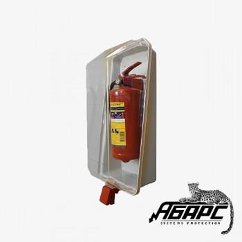 Чехол для огнетушителя (настенный, пластиковый, для ОП-4, ОП-5, ОП-6, ОП-8)