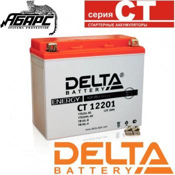 Аккумуляторная батарея Delta CT 12201