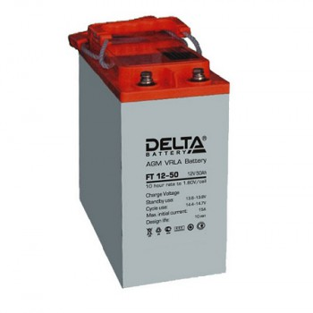 Аккумуляторная батарея Delta FT 12-50