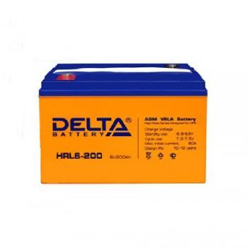 Аккумуляторная батарея Delta HRL 6-200