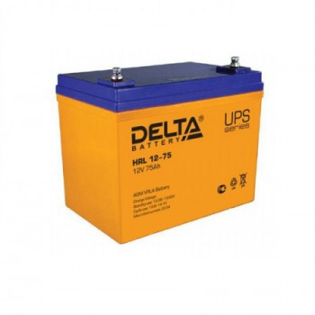 Аккумуляторная батарея Delta HRL 12-75