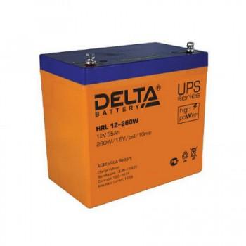 Аккумуляторная батарея Delta HRL 12-260W