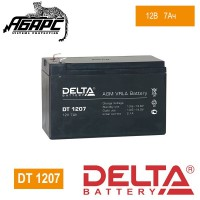 Аккумуляторная батарея Delta DT 1207