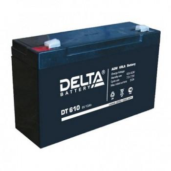 Аккумуляторная батарея Delta DT 610