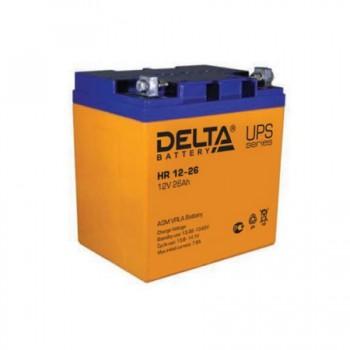 Аккумуляторная батарея Delta HR 12-26