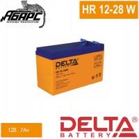 Аккумуляторная батарея Delta HR 12-28W