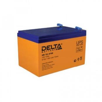 Аккумуляторная батарея Delta HR 12-51W