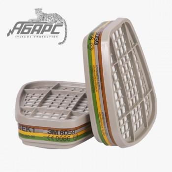 Фильтр 3М 6059 для респиратора