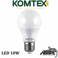Лампа светодиодная (LED) Комтех 44814 10W E27