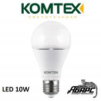 Лампа светодиодная (LED) Комтех 44818 10W E27
