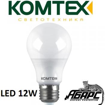 Лампа светодиодная (LED) Комтех 44884 12W E27