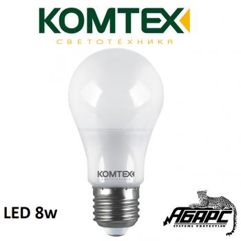 Лампа светодиодная (LED) Комтех 44800 8W E27