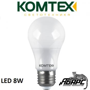Лампа светодиодная (LED) Комтех 44870 8W E27