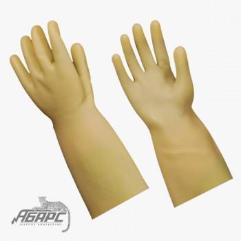 Диэлектрические перчатки бесшовные