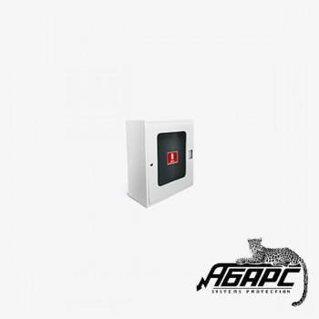 Пожкомплект ШПО-113 НО (Шкаф пожарный, белый)