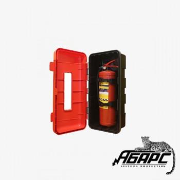 ПРЕСТИЖ-04 Шкаф пожарный, пластиковый, для огнетушителей: ОП-4, ОП-5, ОП-6